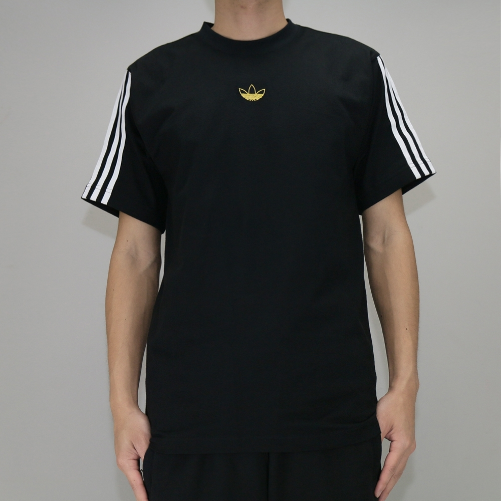 ADIDAS FLOATING TEE 男 短袖上衣 黑-DV3262 product image 1