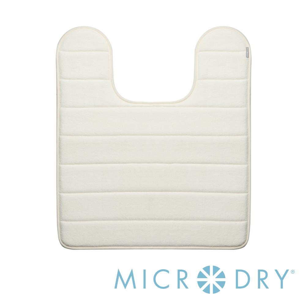 Microdry 時尚地墊 舒適記憶綿浴廁浴墊- 象牙白/F