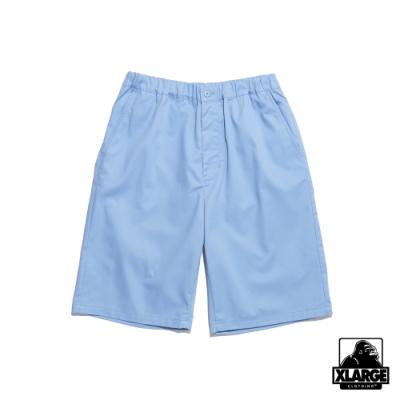 XLARGE WORK EASY SHORT PANTS 鬆緊工作短褲-藍