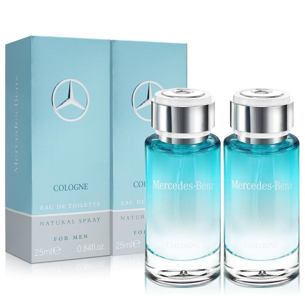 Mercedes Benz 賓士 輕晨曙光男性淡香水(25ml)X2入
