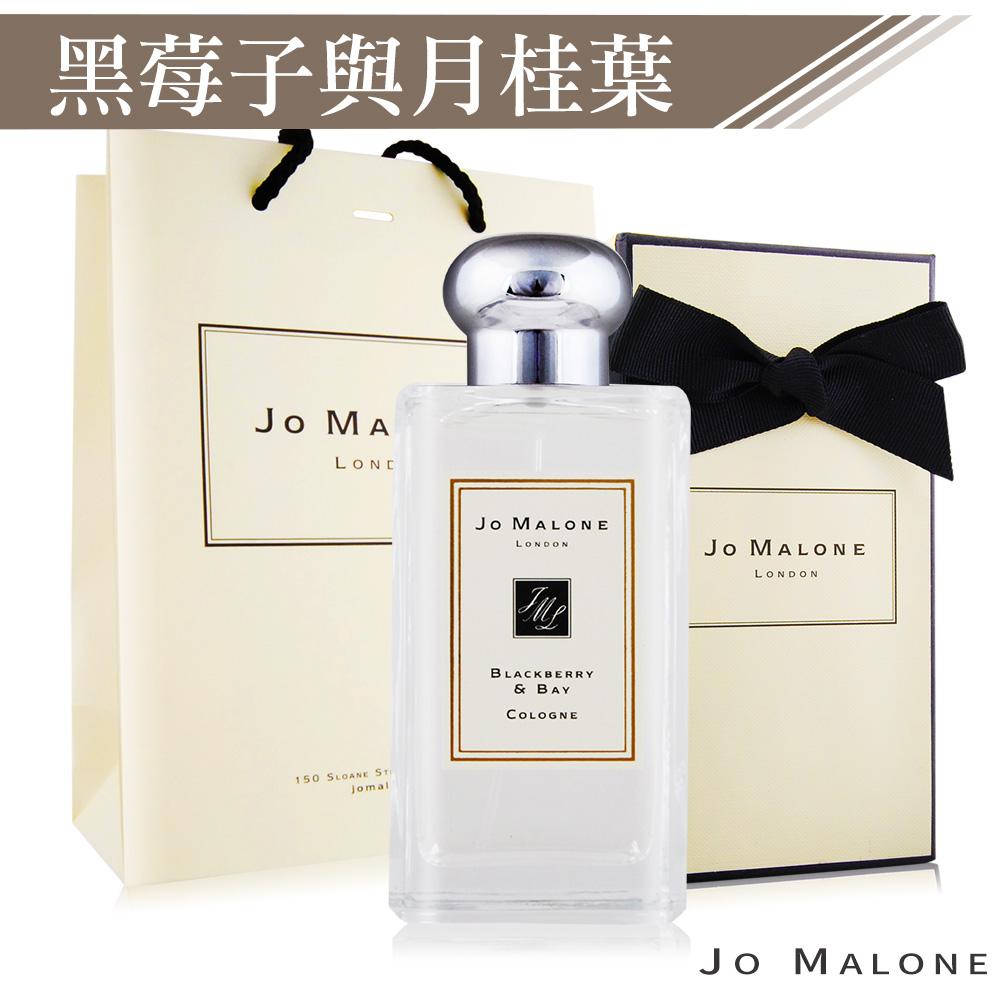 Jo Malone 黑莓子與月桂葉香水100ml[附紙盒+提袋+緞帶]