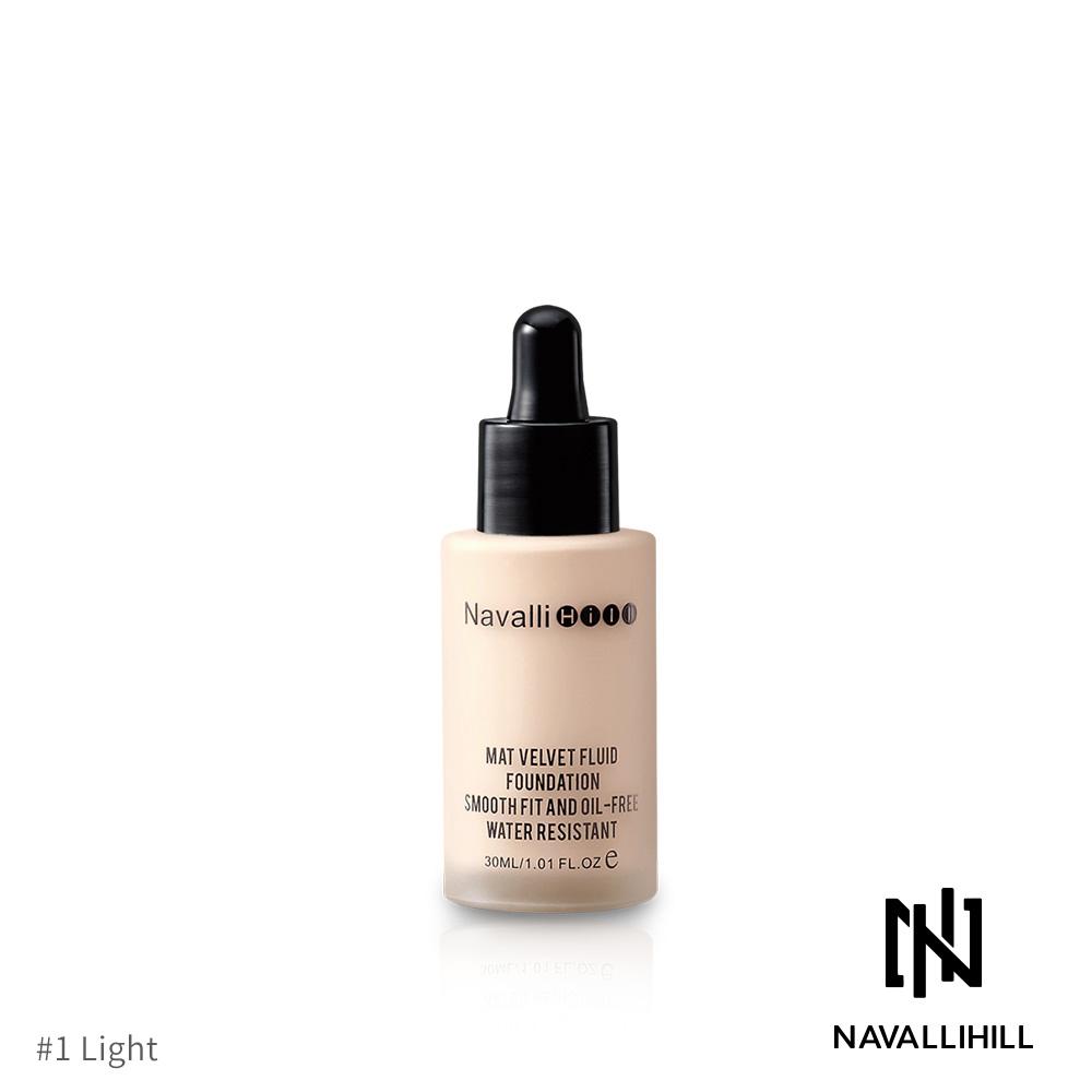 Navalli Hill 絲絨裸肌精華粉底液-#1(30ml)【效期至2020/08】
