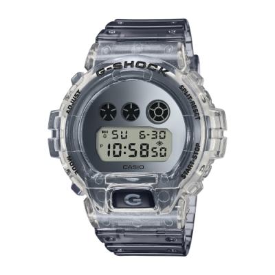 CASIO卡西歐 G-SHOCK 半透明復古系列( DW-6900SK-1D)