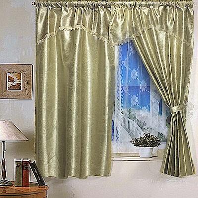 歐洲宮廷風淡采緹花系列窗簾