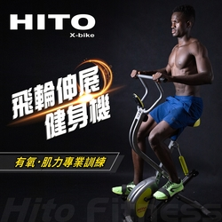 Hito 璽督 飛輪伸展健身機-健腹美