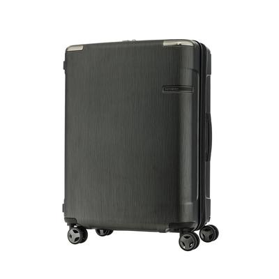 (6/1 10:00 ~6/21 10:00 送超贈點1500) Samsonite新秀麗 30吋 Evoa 拉絲光澤防盜拉鍊抗震輪TSA硬殼行李箱(黑)