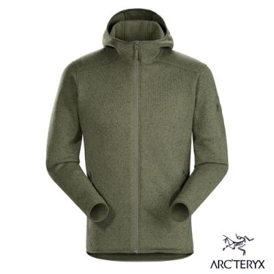 Arcteryx 始祖鳥 男 24系列 Covert 連帽刷毛外套 喬木雜綠