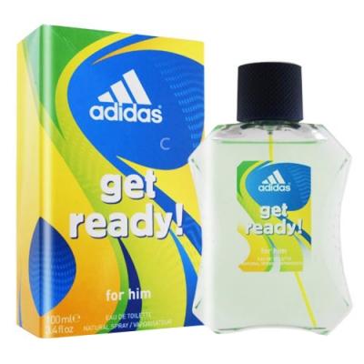 Adidas 愛迪達 預備森巴 男性淡香水 100ml