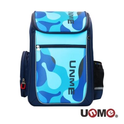 【UnMe】霍爾網狀護脊減壓書包-藍