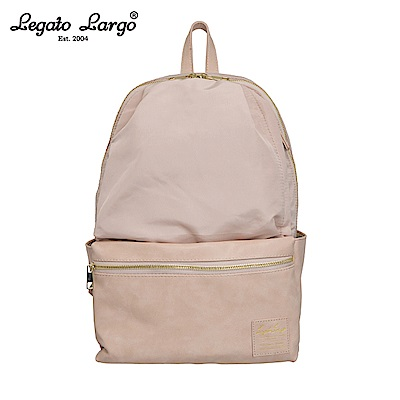Legato Largo 10口袋後背包-大-淺粉 LR-H1051NPI