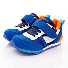 日本月星頂級童鞋 HI系列2E機能款 TW121S21藍白(中小童段)