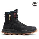 Timberland 男款黑色磨砂革側拉鍊靴|A41AE