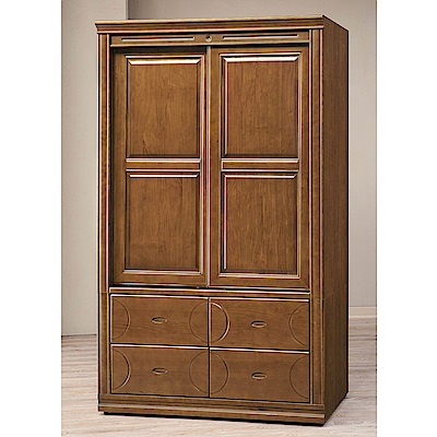 H&D 樟木色4X7衣櫥