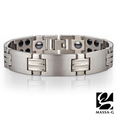 MASSA-G【鈦金流光】純鈦能量手環