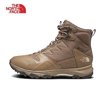 The North Face北面男款卡其色防水保暖登山靴|3K3M5VQ