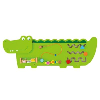 【荷蘭VIGA】超可愛鱷魚多功能學習玩具