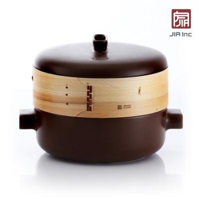 JIA Inc. 品家家品 蒸鍋蒸籠組28cm-棕色