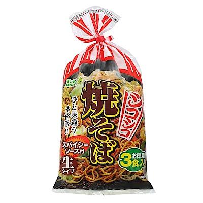 高森  日式炒麵3入(474g)