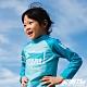 STL kids rash 兒童 韓國 海灘/海邊 機能運動戶外 防磨 水母衣 童凱斯哈林藍 product thumbnail 1
