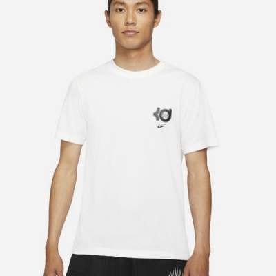 Nike DRY KD SSNL LOGO TEE 男短袖上衣 白-DD0776100