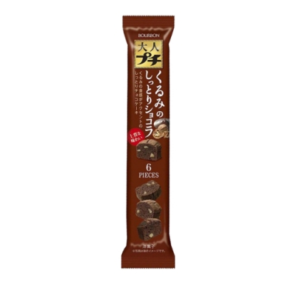北日本一口濕潤核桃巧克力蛋糕(36g)