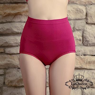 塑褲 萊卡環型塑腰彈力蠶絲塑褲-紅 La Queen