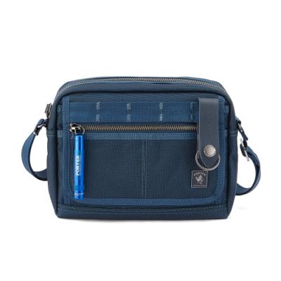 PORTER - 經典新進化NEW HEAT小型斜背包- 普魯士藍