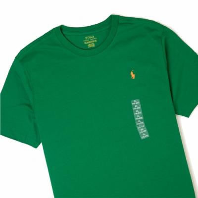 Polo Ralph Lauren 經典小馬圓領T恤(青年款)-綠色