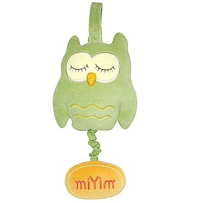 miYim有機棉音樂拉鈴-歐唷貓頭鷹