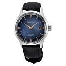 SEIKO PRESAGE 紳士品味機械腕錶4R35-03T0B(SRPE13J1)