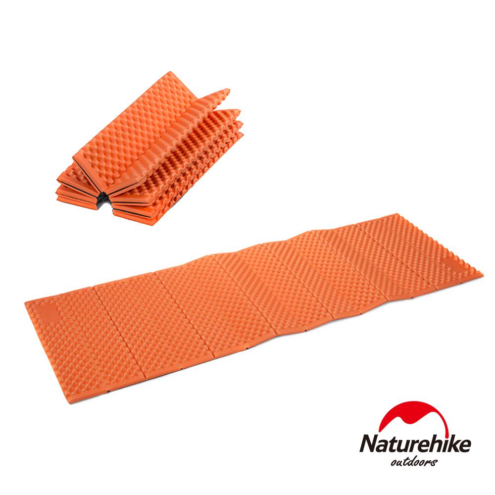 Naturehike 耐壓蛋巢型折疊防潮墊 睡墊 橙色-急
