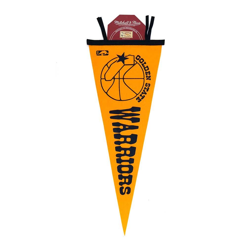M&N NBA 復古錦旗 75-76 勇士隊