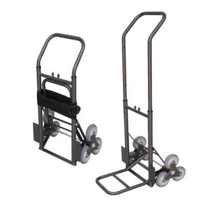 【COLOR】可收折鐵製爬梯手推車
