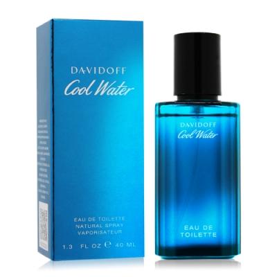 Davidoff Cool Water冷泉男性淡香水40ml EDT-國際航空版