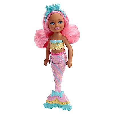 芭比夢托邦雀兒喜小美人魚-粉紅髮(3Y+)