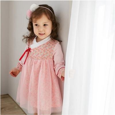 Baby童衣 單件式韓服造型包屁裙 82052(共4色)