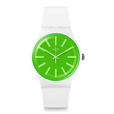 Swatch  Transformation系列 GRASSNEON冰萃青檸