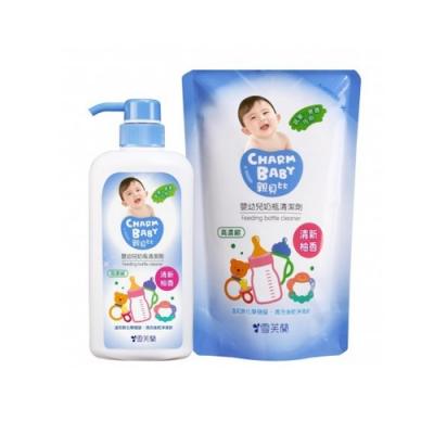 雪芙蘭親貝比 - 嬰幼奶蔬洗潔優惠組 2罐+2包