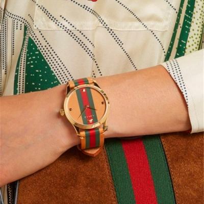 GUCCI古馳 G-Timeless 當代時尚手錶-38mm  YA1264077