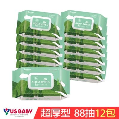優生 純淨柔濕巾超厚型(88抽12包)
