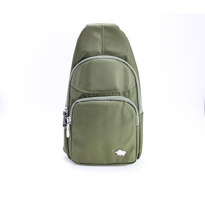 【DRAKA 達卡】防潑水兩用單肩斜背胸包-綠(44DK58220159)