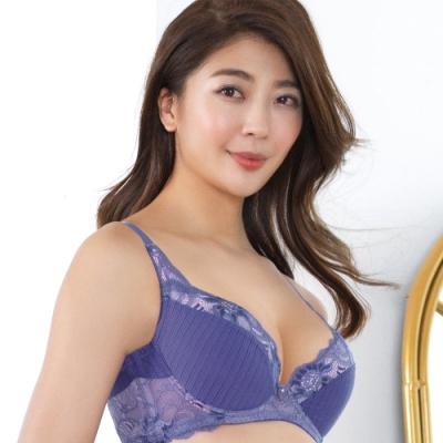 推EASY SHOP-純淨約定 大罩杯C-E罩內衣(紫晶色)