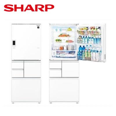 [下單再折] SHARP 夏普 551L 自動除菌離子變頻觸控左右開冰箱 星鑽白 SJ-WX55ET-W