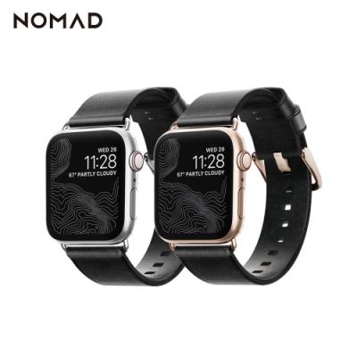 美國NOMADxHORWEEN皮革 Apple Watch 38/40mm錶帶-摩登款