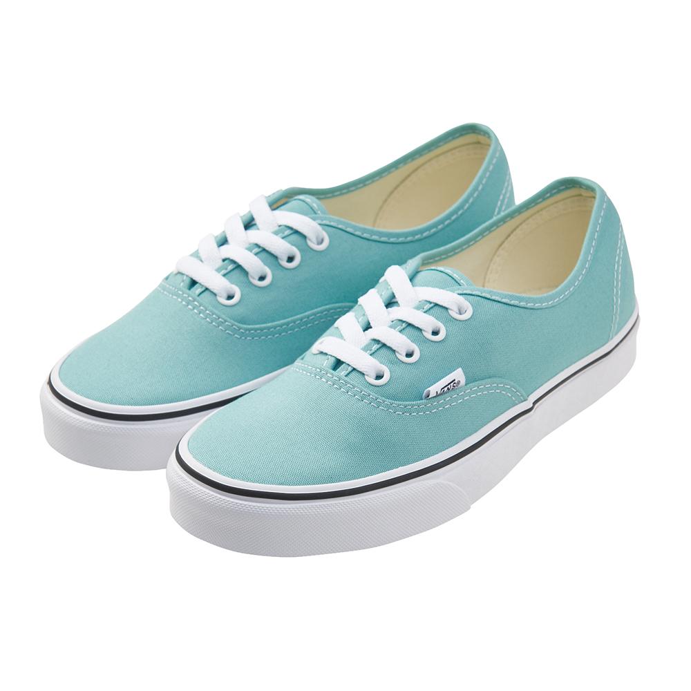 (女)VANS Authentic 經典素色休閒鞋*綠色