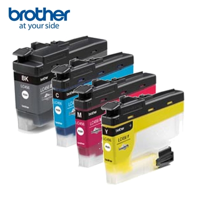 Brother LC456BK/C/M/Y 原廠四色墨水匣(1黑3彩)