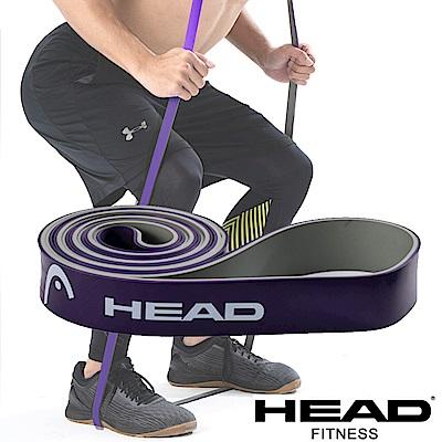 HEAD 雙色環狀阻力帶(重量級)-紫灰-寬3.2cm