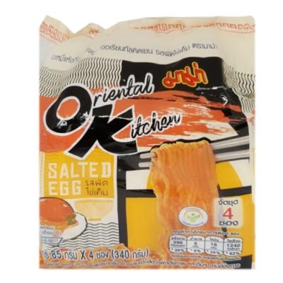 泰國 四入鹹蛋黃風味袋麵(340g)