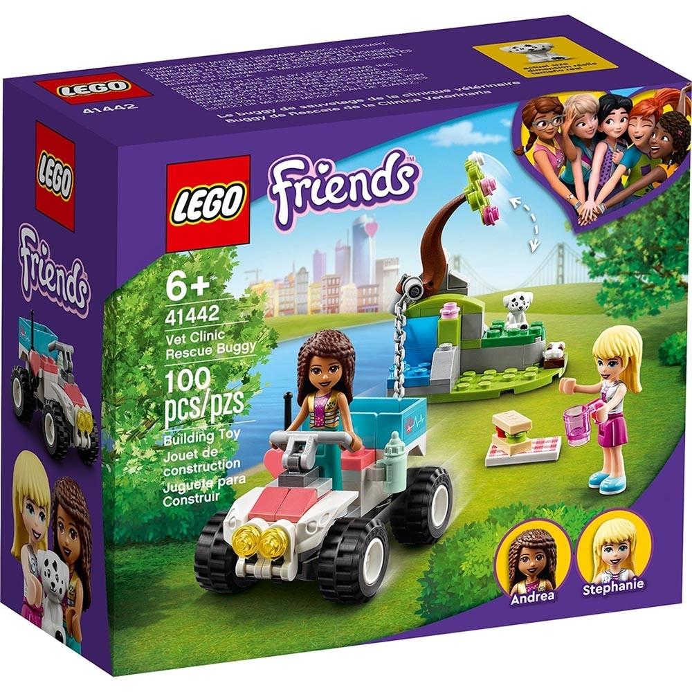 樂高LEGO Friends系列 - LT41442 獸醫診所救援越野車