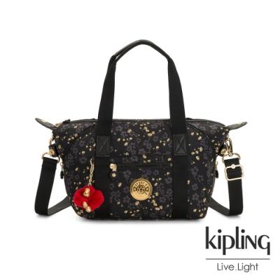 Kipling 花蕾滿枝綻放手提側背包-ART MINI